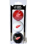 Team Golf NHL Detroit Red Wings Golf Balls - 3 Pack