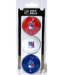 Team Golf NHL New York Rangers Golf Balls - 3 Pack
