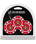 Team Golf Ottawa Senators Golf Chips - 3 Pack