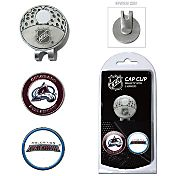 Team Golf Colorado Avalanche Cap Clip And Marker Set