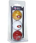 Team Golf NFL San Francisco 49ers Golf Balls - 3 Pack