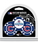 Team Golf Chicago Cubs MLB Golf Chips - 3 Pack (2016 World Series Champions Edition)
