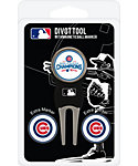 Team Golf Chicago Cubs MLB Divot Tool - 2016 World Series Champions Edition