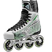 TOUR Hockey Senior Fish BoneLite Pro White Roller Hockey Skates