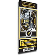 That's My Ticket Pittsburgh Pirates Andrew McCutchen Debut Game Mega Ticket