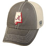 Top of the World Men's Alabama Crimson Tide Grey/White United Adjustable Snapback Hat