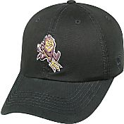 Top of the World Men's Arizona State Sun Devils Black Crew Adjustable Hat