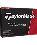 TaylorMade Tour Preferred X My Number Golf Balls - 12 Pack