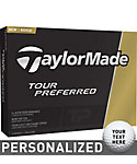 TaylorMade Tour Preferred My Number Golf Balls - 12 Pack
