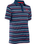 Under Armour Boys' coldblack Draw Polo
