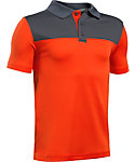 Under Armour Boys' Performance Blocked Polo