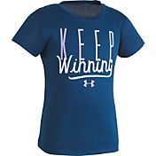 Under Armour Little Girls' Keep Winning T-Shirt