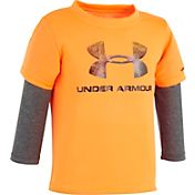 Under Armour Infant Boys' Big Logo Long Sleeve Shirt