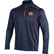 Under Armour Men's Auburn Tigers Blue/Orange Validate Quarter-Zip Shirt