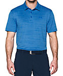Under Armour Playoff Heathered Stripe Polo