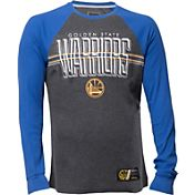 UNK Men's Golden State Warriors Grey/Royal Thermal Long Sleeve Shirt