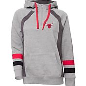 UNK Women's Chicago Bulls Grey Downtown Hooded Fleece