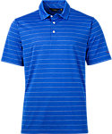 Walter Hagen Americana Heather Pop Stripe Polo