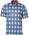 Walter Hagen USA Plaid Polo