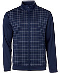 Walter Hagen Windowpane Full-Zip Jacket