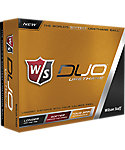 Wilson Staff DUO Urethane Golf Balls - 12 Pack