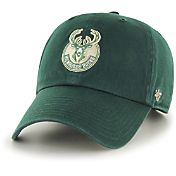 '47 Men's Milwaukee Bucks Green Clean-Up Adjustable Hat