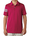 adidas Boys' climacool 3-Stripes Polo
