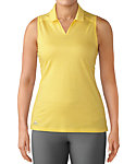 adidas Women's Tonal Stripe Sleeveless Polo