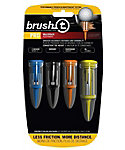 Brush-t Pro Assorted Golf Tees - 4 Pack