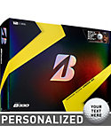 Bridgestone TOUR B330 Personalized Golf Balls - Limited Edition B Mark (12 Pack)