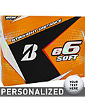 Bridgestone e6 SOFT Personalized Golf Balls - 12 Pack