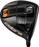 Cobra KING F6 Driver - Grey Turbulence/Orange