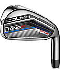 Cobra Kids' KING F7 Junior ONE Length Irons (Ages 13-15) - Graphite