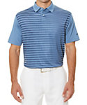 Callaway Ombre Striped Print Polo