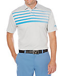 Callaway OptiSoft Ombre Chest Stripe Heather Polo