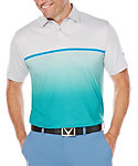 Callaway OptiSoft Ombre Heather Block Polo