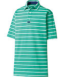 FootJoy Athletic Fit Engineered Back Stripe Polo