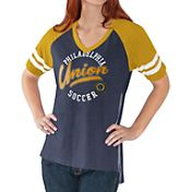 G-III For Her Women's Philadelphia Union Fastball Navy T-Shirt