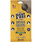 Hunters Specialties Scent-A-Way Fresh Earth Dryer Sheets