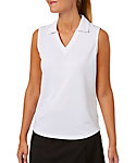 Lady Hagen Women's Essentials Sleeveless Polo - Extended Sizes