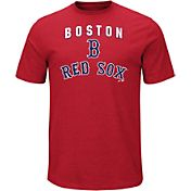 Majestic Men's Boston Red Sox Stoked Red T-Shirt