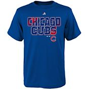 Majestic Youth Chicago Cubs Spark Royal T-Shirt