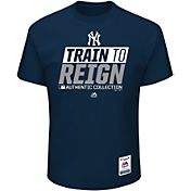 Majestic Youth New York Yankees 2017 Spring Training Authentic Collection Navy T-Shirt