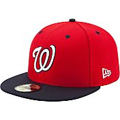 New Era Men's Washington Nationals 59Fifty Alternate Red Authentic Hat