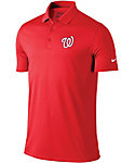 Nike Men's Washington Nationals Dri-FIT Red Victory Solid Polo