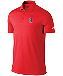 Nike Men's Boston Red Sox Dri-FIT Red Victory Solid Polo