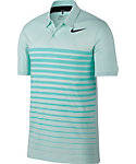 Nike Dry Heather Stripe Polo