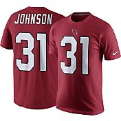 Nike Men's Arizona Cardinals David Johnson #31 Pride Red T-Shirt