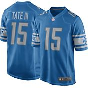 Nike Men's Home Game Jersey Detroit Lions Golden Tate #15