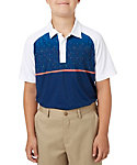 Slazenger Boys' Constellation Block Printed Polo